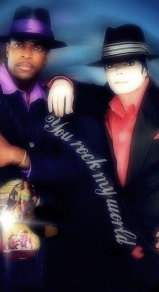 • • Album Invincible ; You rock my world ♥