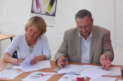 Signature du Partenariat entre Handisport Somme et  le Groupe Sup de Co Amiens Picardie