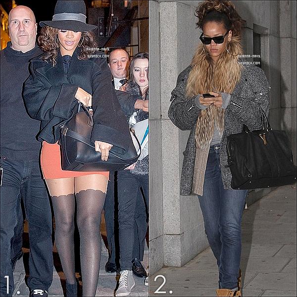Laquelle de ses deux tenues que notre sublime  Rihanna porte préfères-tu ?