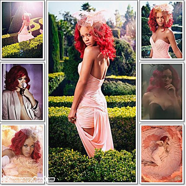 Voici quelque photos du nouveau parfum de notre sublime Rihanna Reb'l Fleur