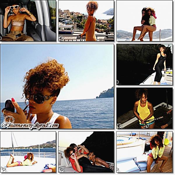Rihanna en vacances, été 2011 Rihanna et tous simplement magnifique! sa fait plaisir d'avoir partagé ses photos ! les photos sont superbes tous comme elle !