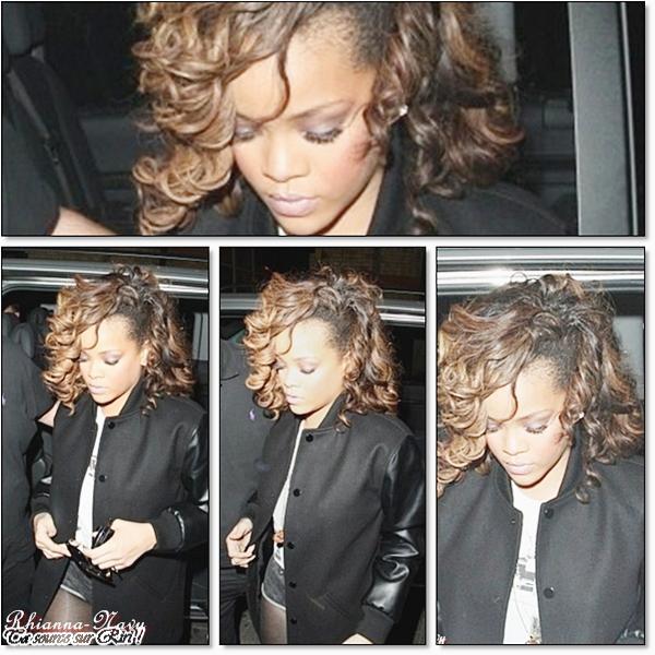 14 Novembre :C'est aux environs de 03h00 du matin que Rihanna s'est rendue au club « Cirque Du Soir » à Londres pour souffler un peu. Top ou flop? Pour moi un top !