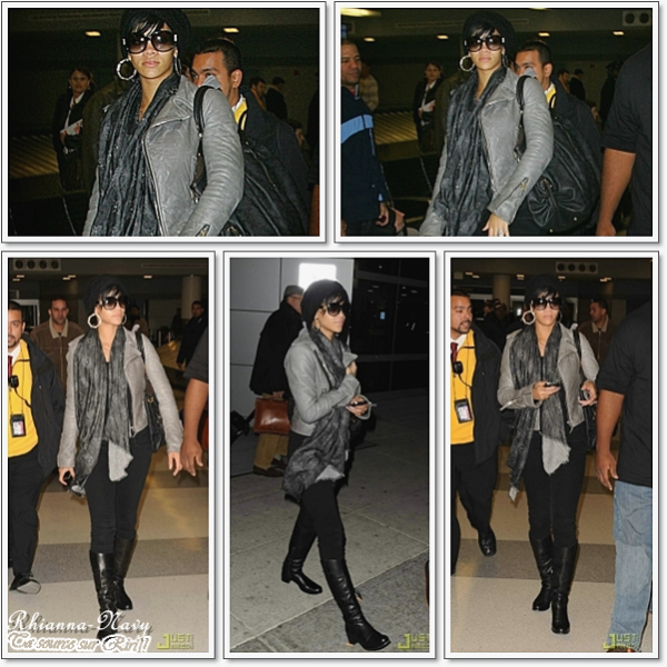 Flash Back ! Le 18 Novembre 2OO8 Rihanna  Arrive à l'aéroport JFK de Los Angeles , à New York Alors plutot top ou flop cet année là ?