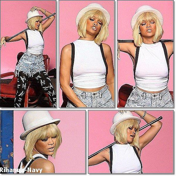 """3O Novembre 2011 : Quelques photos du nouveau clip de Rihanna """" You Da One """" Alors top ou flop ? Tu l'aimes bien en blonde ? LLLLLLLLLLLLLLLLLLLLLLLLLLLLLLLLLLLLLL  Qu'en pensez-vous, avez-vous hâte de voir le vidéoclip ? * * Encore un nouveau record ! En effet, le nouvel album de Rihanna, « Talk That Talk », est classé cette semaine à la 01ère position des charts au Royaume-Uni, tout comme « We Found Love » qui conserve sa position de leader pour la sixième consécutive ! Rihanna marque donc un nouveau record puisqu'elle est la seule artiste féminine à avoir eu à deux reprises en une année un album et un single classés simultanément en pole position outre-Manque, puisque plus tôt cette année, « Loud » et « What's My Name ? » étaient aussi classés à la 01ère place."""