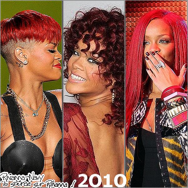Tu préferes Rihanna en 2OO5, 2OO6 , 2OO7 , 2OO8 , 2OO9 , 2O1O , ou maintenant 2O11 ? *