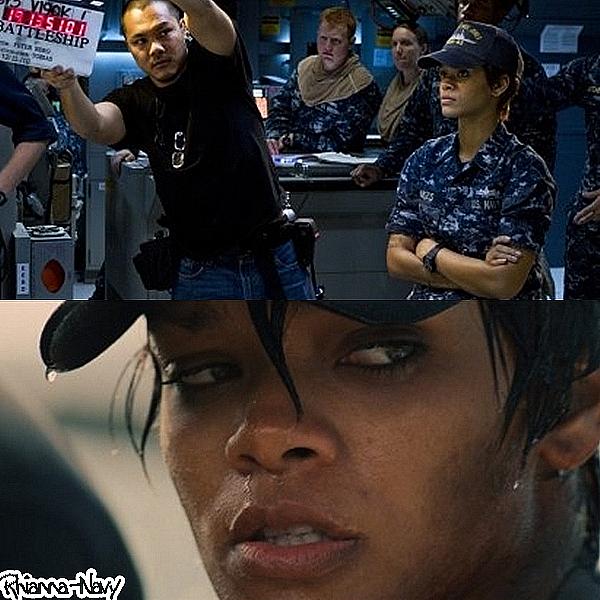 Décembre 2011 Rihanna sur le tournage du film « Battleship » Tu as hate de voir le film ? lllllllllllllllllllllllllllll