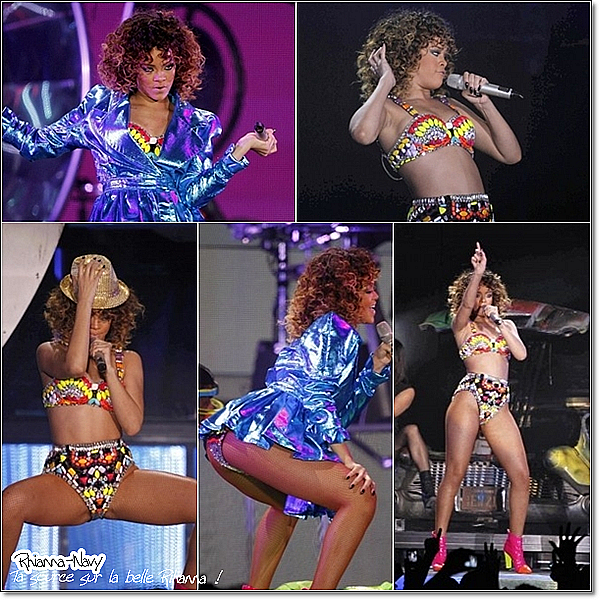 14 Décembre :Concert à Barcelone  Rihanna a donné hier soir l'un des derniers concerts du « Loud Tour » à Barcelone, en Espagne, devant plus de 18 000 personnes en furie.