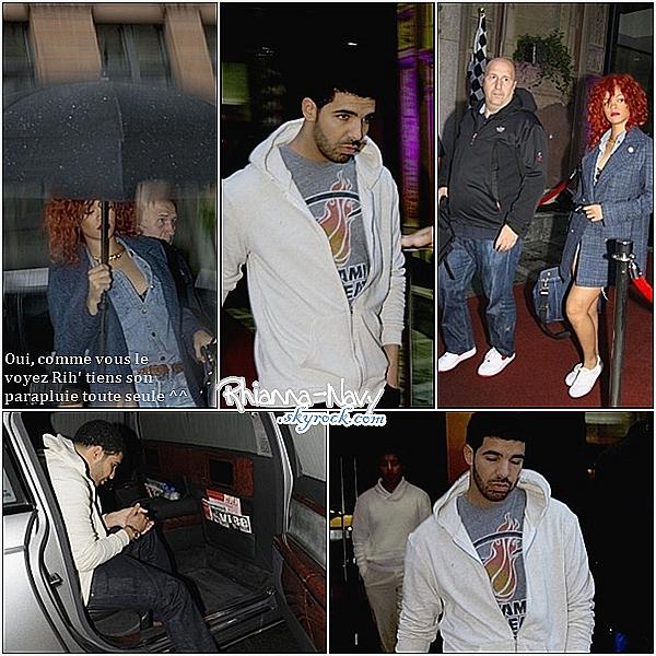 12 Juin;Rihanna et Drake passent la journée ensemble à Montréal, Alors top ou flop? Pour moi ces un top!Ceci est un flashback - Ceci est un flashback - Ceci est un flashback