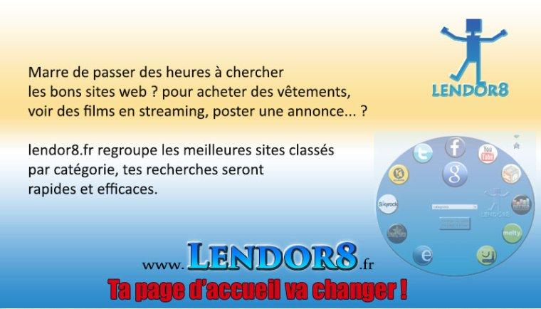 lendor8.fr connaissez vous meilleure page d'accueil ?