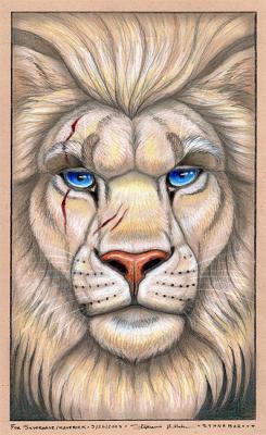 Lion O Yeux Bleu Bienvenu Sur Mon Site Freestyle