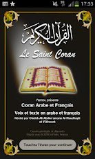 "Coran francais audio ""Android sur Google play"""