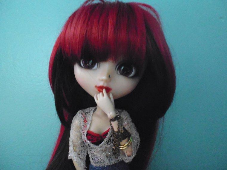 Présentation de mes dolls.