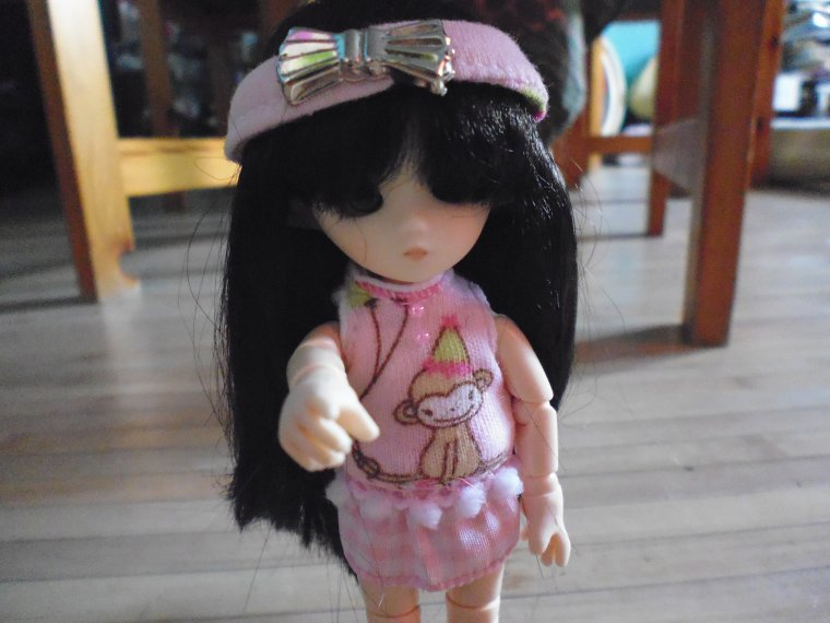 Photo de ma BJD qui s'appelle Emilie