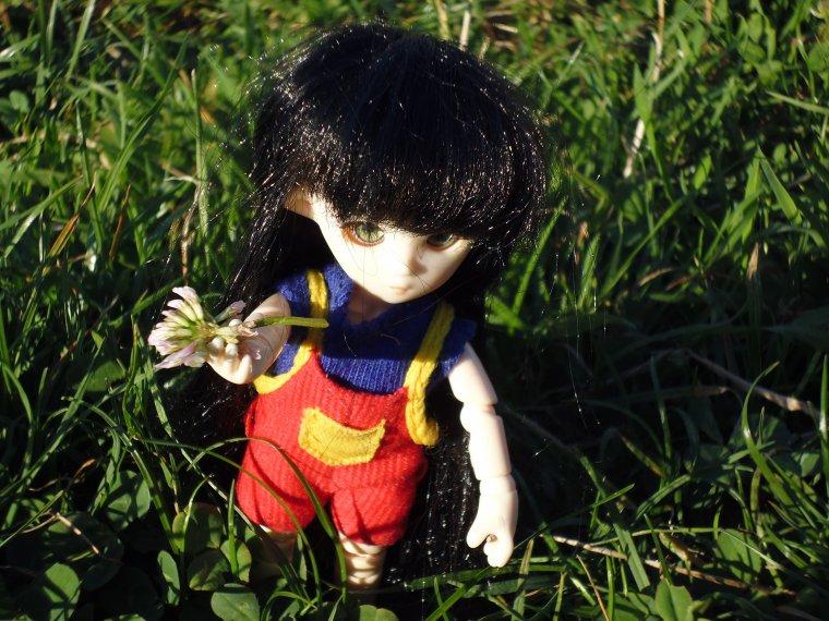 Photo de Emilie au parc