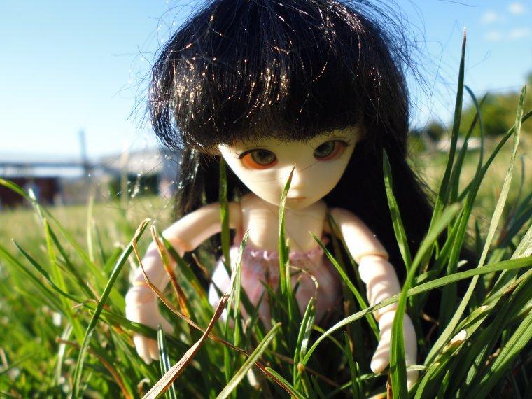 Photo de Emilie au parc suite Fin