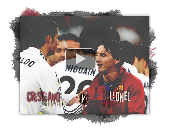 Cristiano Ronaldo vs Lionel Messi (vidéo créer par moi)