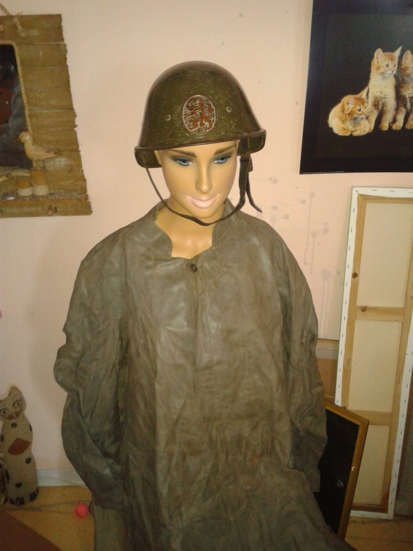 Mes casques hollandais et uniforme ww2