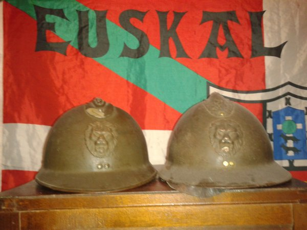 Casques belges ww2