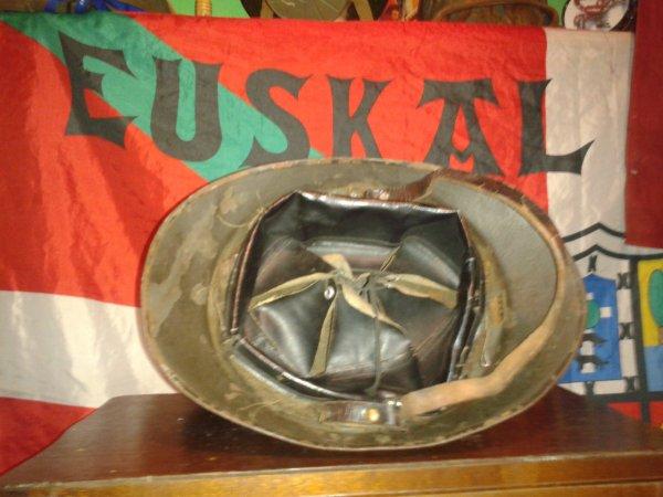Casques polonais (adrian) fabrication française ww2
