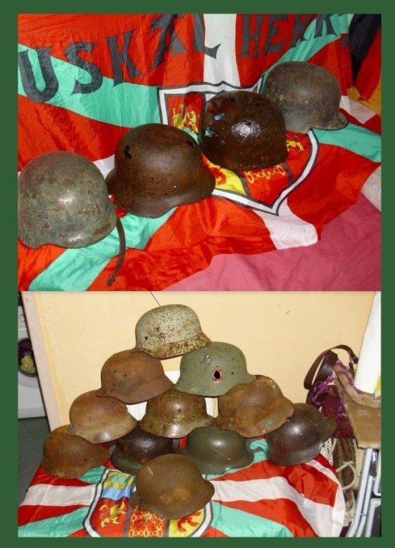 Mes casques allemands ww2