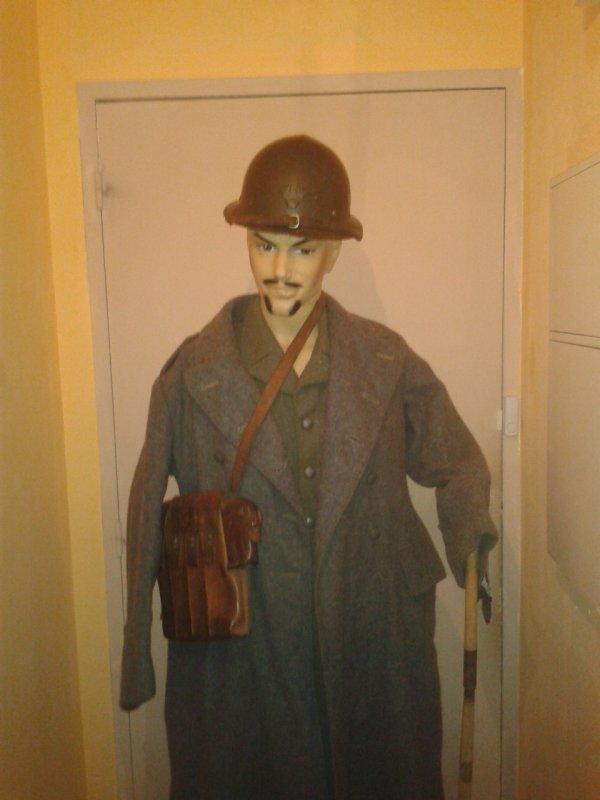 Mon uniforme suèdois de 1940