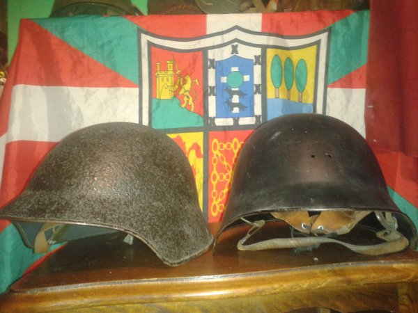 Mes casques suisse ww2