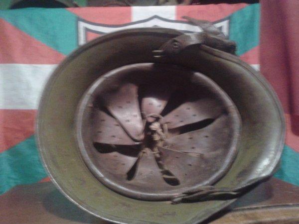 Mon casque bulgare ww2 model 1936 ww2