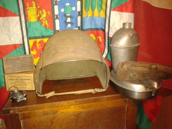 Mon casque de us air force ww2 le usm3 (rare)