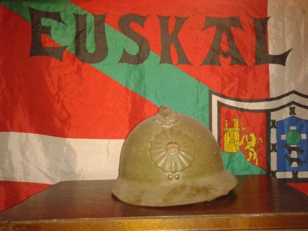 Mon casque adrian péruvien ww2 model 34
