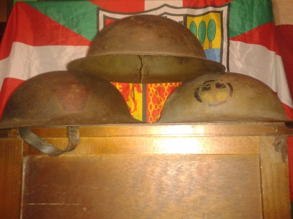 Mes casques US ww1