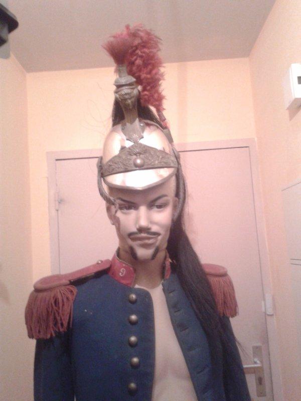 Mon uniforme de chasseur à cheval ww1