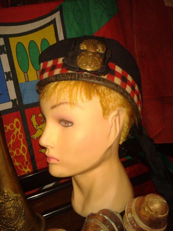 Glengarry écossais ww1