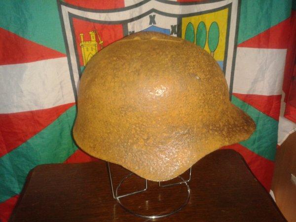 coque de casque sovietique ww2 ssh36 (casque rare)