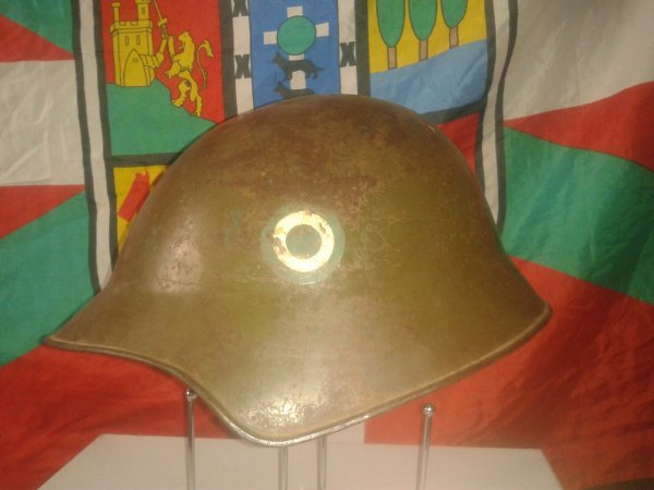 Casque Argentin model 1918 Ww1 (suisse)