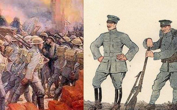 Mon uniforme officier portugais et de soldat portugais Ww1