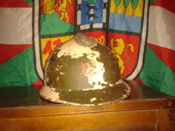 MOn casque FFI ww2 authentique