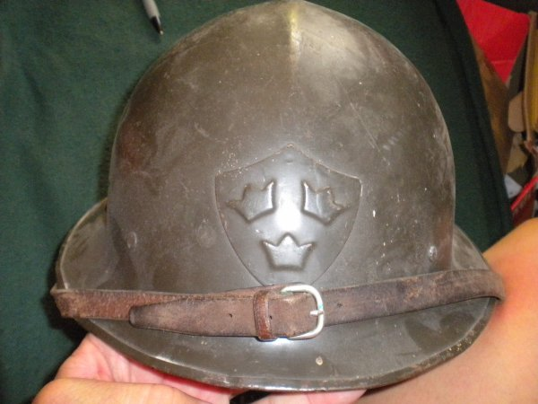casque suedois model 1921 ww2