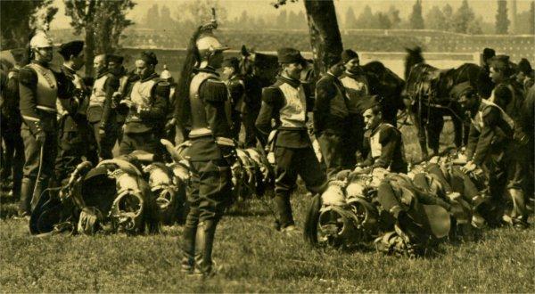Casque de cuirassier ww1 cavalerie