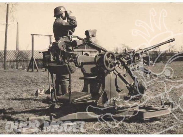 Mon canon Allemand flak 30 (pour du 2cm) Ww2
