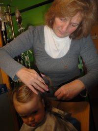 Nouvelle coupe de cheveux