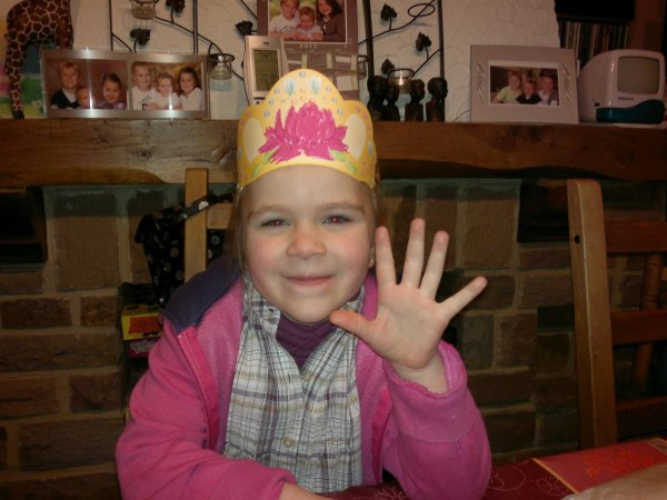 Maxine a 5 ans!