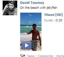 Derniers statuts facebook de David