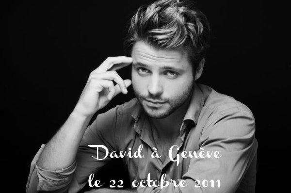 David à Genève le 22 octobre 2011