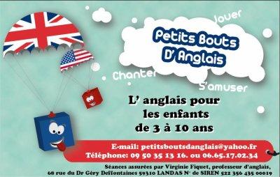 Carte De Visite Petits Bouts D Anglais