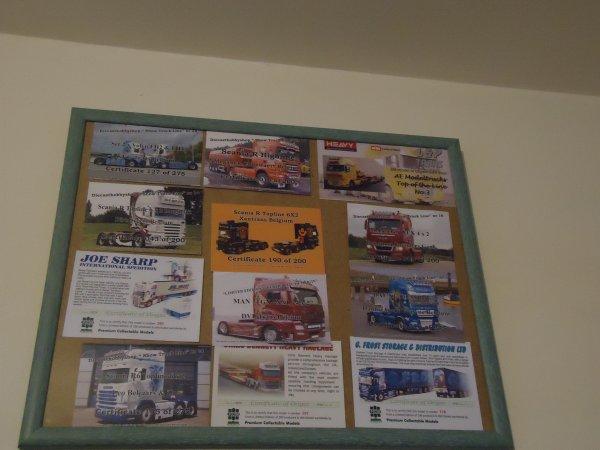 Voila un cadre photo pour mes certificats de camions wsi
