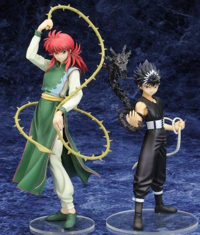 Figurines de Hiei , Kurama , Yusuke , Enma Jr , Kurama-(en Démon)-!!!!