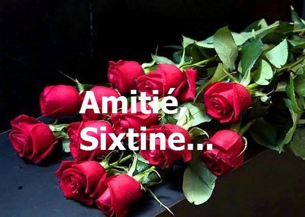 Amitié,bisous...