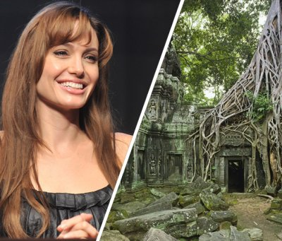 Angelina Jolie : elle a son temple au Cambodge