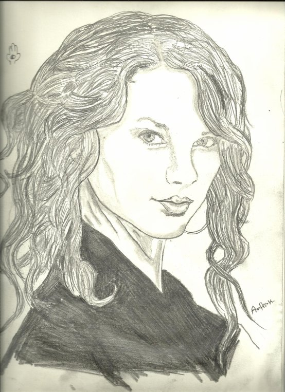 - Portrait de Taylor Swift -