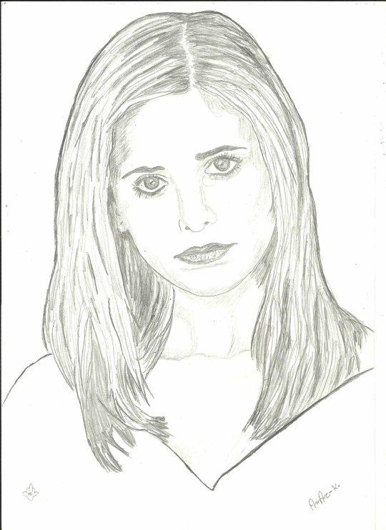 - Portrait de Sarah michelle gellar -